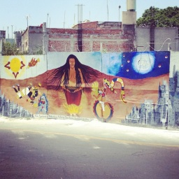 Mural - Spirit of Nature by Talia Romo Xochitiotzi