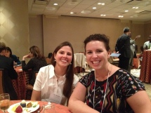 Clair Keene, PSU, and Samantha Alvis, iAGRI. Samantha and I were members of the AIARD Future Leaders Forum in 2012