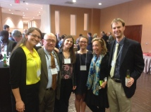 All of the PSU attendees! L to R: Myself, Ted Alter, Clair Keene, Sarah Eissler (also an INTAD student), Deanna, and Tom Gill.