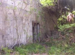 An old military bunker on Bikini