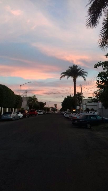 Obregon sunset