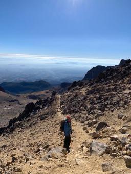 Pedro, amazing volcano leader.