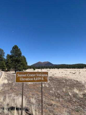 Sunset Crater National Monument was my favorite I visited during my film fest weekend. So beautiful